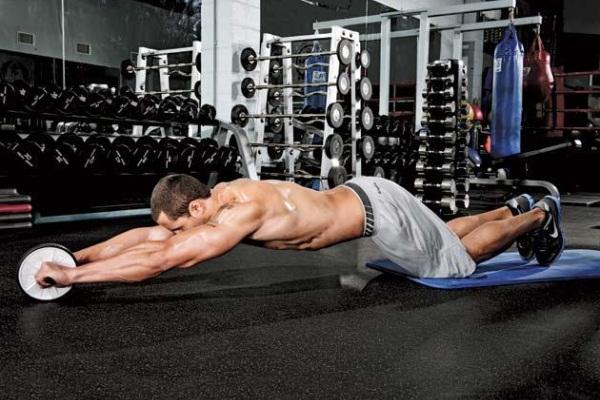 Колело за коремни преси упражнения-коремни преси за долната част на корема