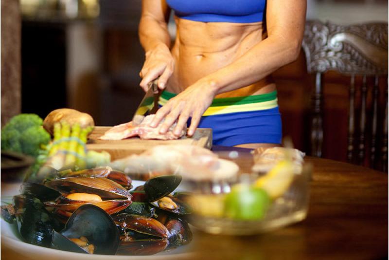 Морски миди калории