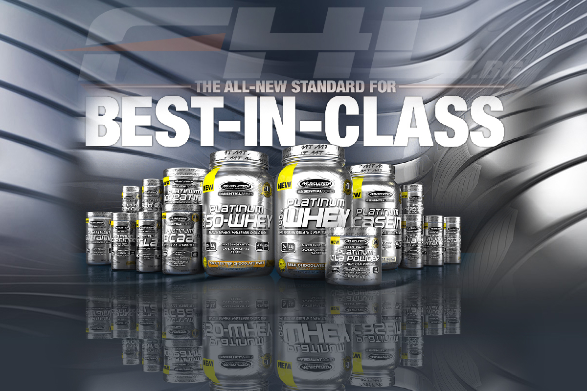 Essentials Platinum series MuscleTech
