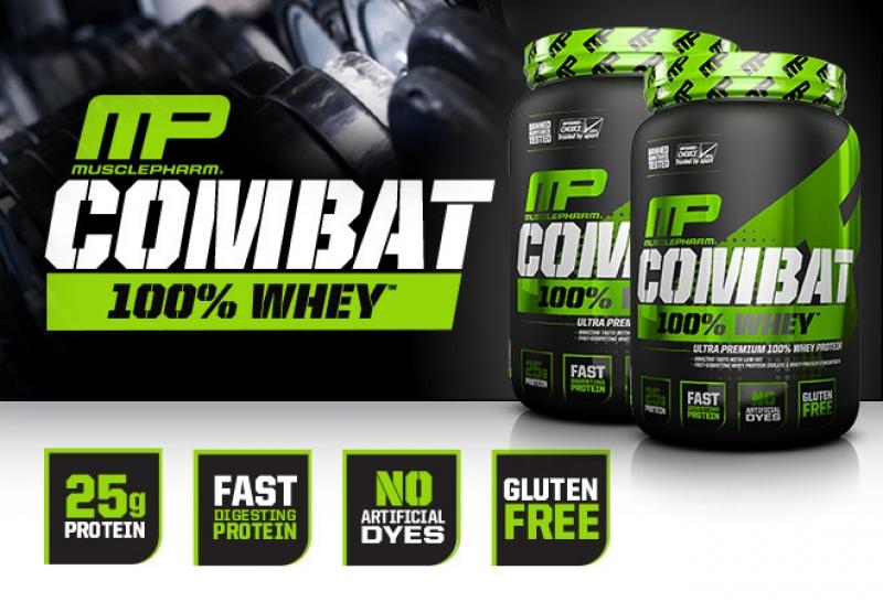 Топ новини за Фитнес » Диети » MusclePharm Combat 100% Whey идва » Форум » Мнения