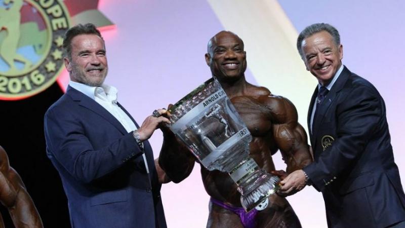 Полезна информация - Декстър Джаксън спечели Arnold Classic Europe 2016