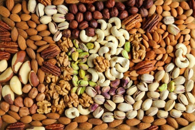 Ядки хранителна стойност и калории