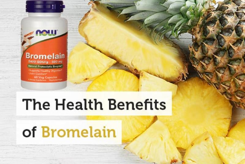 Полезна информация - Екстракт от ананас- Бромелаин