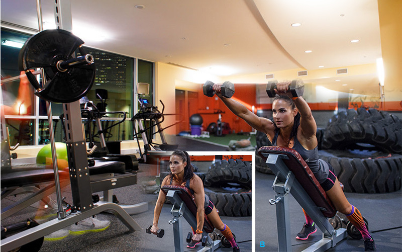 Полезна информация - Упражнение за оформяне на  трапец и задно рамо