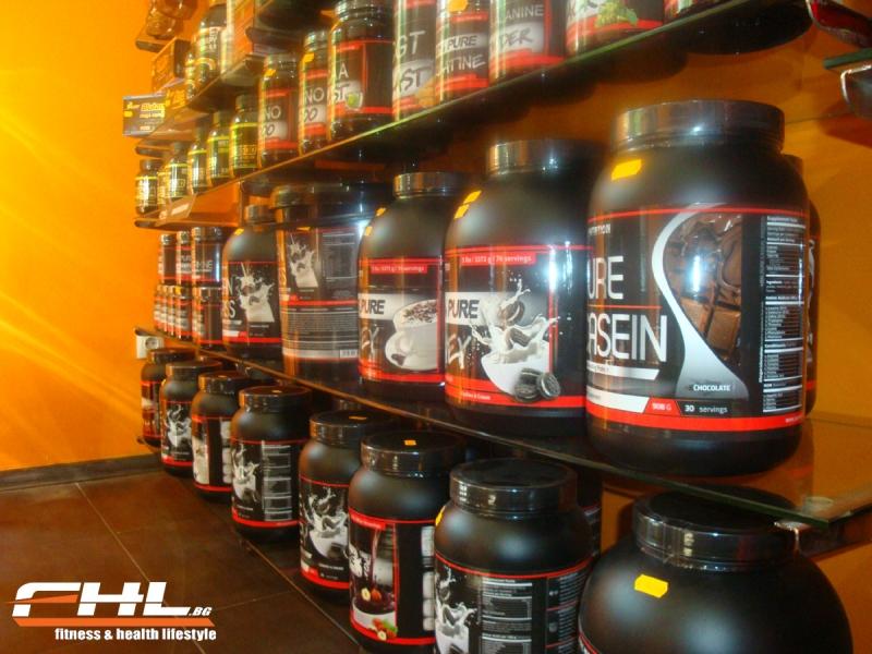 Магазин за фитнес протеини София