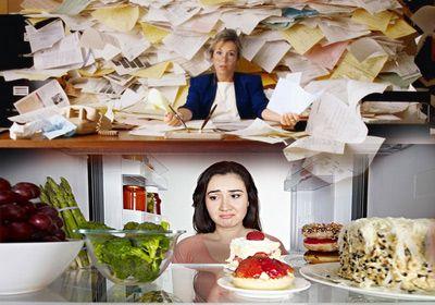 Стрес, глад, напълняване