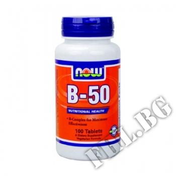 Съдържание » Цена » Прием » Vitamin B-50 100 tab