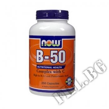 Действие на Vitamin B-50 complex with 250 мг Витамин C мнения.Най-ниска цена от Fhl.bg-хранителни добавки София