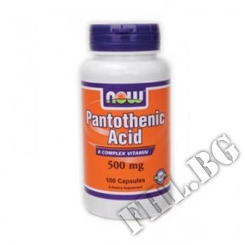 Съдържание » Цена » Прием » Витамин В-5 /Pantothenic Acid