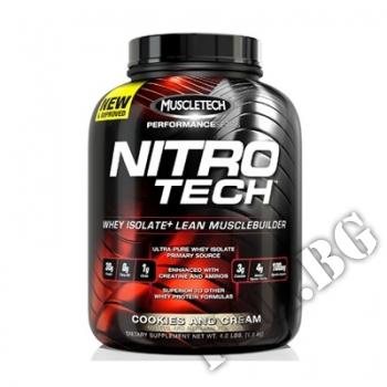 Действие на  Nitrotech Performance Series 4lbs-бисквитка мнения.Най-ниска цена от Fhl.bg-хранителни добавки София