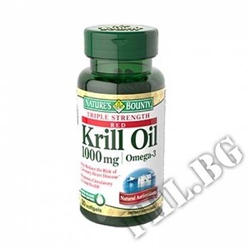 Действие на Krill oil 1000mg 30 caps мнения.Най-ниска цена от Fhl.bg-хранителни добавки София