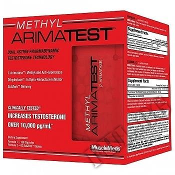 Действие на Musclemeds methyl arimatest /Testosterone booster мнения.Най-ниска цена от Fhl.bg-хранителни добавки София