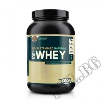 Съдържание » Цена » Прием » 100% Natural  Whey Gold Standard - 0,908