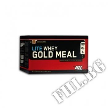 Съдържание » Цена » Прием » WHEY GOLD MEAL LITE