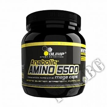 Съдържание » Цена » Прием » Olimp anabolic amino 5500 mega caps