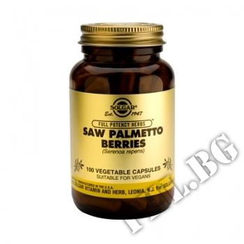 Действие на Saw palmetto berries f.p. 100 caps. мнения.Най-ниска цена от Fhl.bg-хранителни добавки София