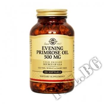 Съдържание » Цена » Прием » Evening primrose oil 500mg