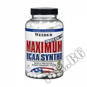 Действие на Maximum BCAA Syntho 240caps мнения.Най-ниска цена от Fhl.bg-хранителни добавки София