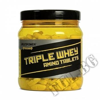 Съдържание » Цена » Прием » Triple Whey  Amino Tablets