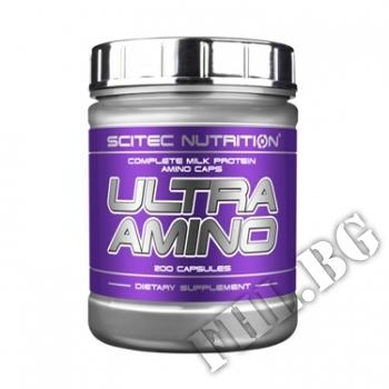 Съдържание » Цена » Прием » Ultra Amino 200 Caps.