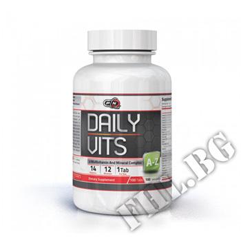 Съдържание » Цена » Прием »  Daily Vits 100tab