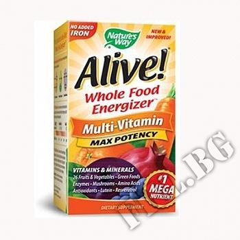 Съдържание » Цена » Прием »  Алайв мултивитамин |Alive