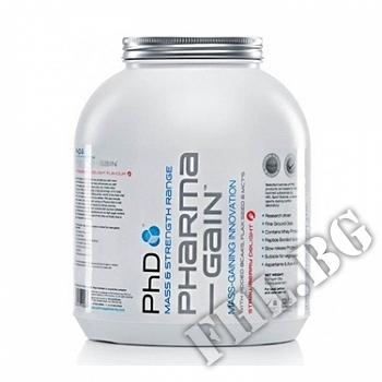 Съдържание » Цена » Прием »  Phd pharma gain 5lb