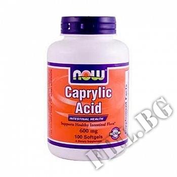 Действие на Caprylic Acid 600 mg мнения.Най-ниска цена от Fhl.bg-хранителни добавки София