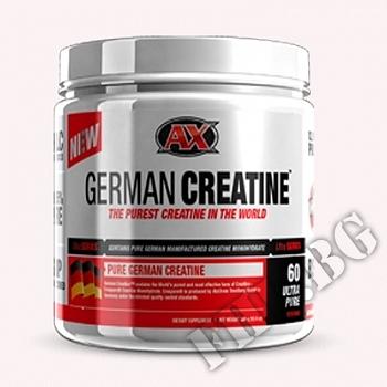 Действие на AX German creatine  мнения.Най-ниска цена от Fhl.bg-хранителни добавки София