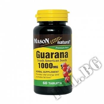 Действие на Guarana 1000 mg мнения.Най-ниска цена от Fhl.bg-хранителни добавки София