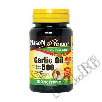 Съдържание » Цена » Прием » Чесън (масло) 500 mg,
