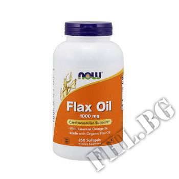 Действие на Flax Oil 1000 мг - 250 дражета мнения.Най-ниска цена от Fhl.bg-хранителни добавки София