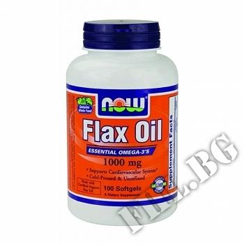Съдържание » Цена » Прием » Flax Oil 1000 мг - 250 дражета