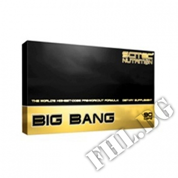 Действие на BIG BANG CAPS |Биг Бенг |  Scitec мнения.Най-ниска цена от Fhl.bg-хранителни добавки София