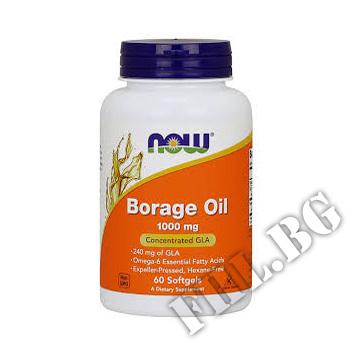 Съдържание » Цена » Прием » Borage Oil 1000mg