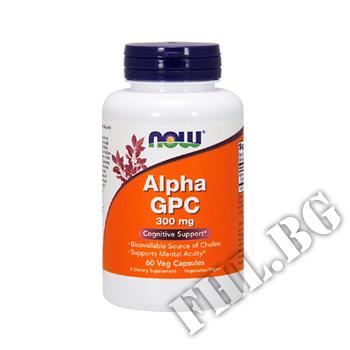 Действие на Alpha GPC 300 мг - 60 капсули мнения.Най-ниска цена от Fhl.bg-хранителни добавки София