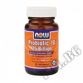 Действие на  Probiotic-10™ 25 Billion   мнения.Най-ниска цена от Fhl.bg-хранителни добавки София