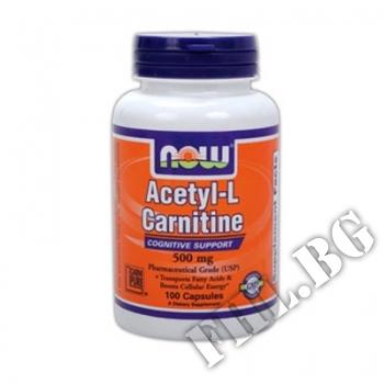 Съдържание » Цена » Прием »  Acetyl-L-Carnitine 100caps