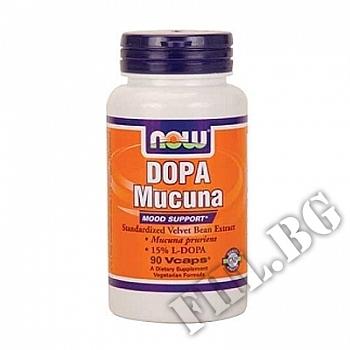 Съдържание » Цена » Прием » DOPA Mucuna - 90 капсули