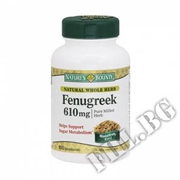 Съдържание » Цена » Прием » Fenugreek 610 mg NBounty