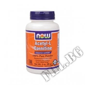 Съдържание » Цена » Прием »  Acetyl-L-Carnitine Прах - 85 гр