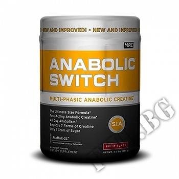 Действие на Anabolic Switch | MRI мнения.Най-ниска цена от Fhl.bg-хранителни добавки София