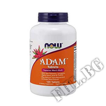 Действие на ADAM Men's Vitamins 120 tab мнения.Най-ниска цена от Fhl.bg-хранителни добавки София