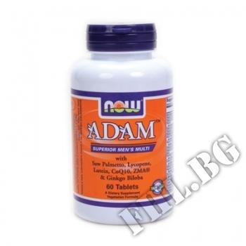 Съдържание » Цена » Прием » ADAM Men's Vitamins - 60 таблетки