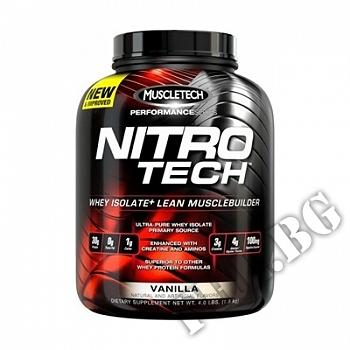 Действие на Nitrotech Performance Series 4lbs-ванилия мнения.Най-ниска цена от Fhl.bg-хранителни добавки София