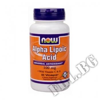 Действие на Alpha Lipoic Acid 100mg мнения.Най-ниска цена от Fhl.bg-хранителни добавки София