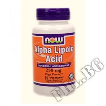 Действие на Alpha Lipoic Acid 250мг мнения.Най-ниска цена от Fhl.bg-хранителни добавки София