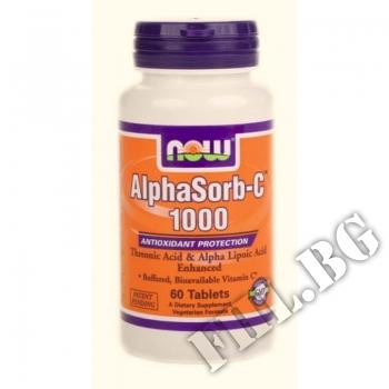 Действие на AlphaSorb-C 1000 мг мнения.Най-ниска цена от Fhl.bg-хранителни добавки София