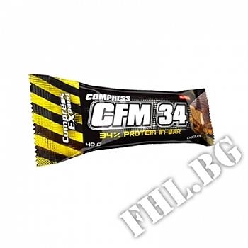 Действие на Compress CFM 34% protein bar 80gr мнения.Най-ниска цена от Fhl.bg-хранителни добавки София
