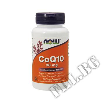 Действие на CoQ10 30 мг - 60 капсули  мнения.Най-ниска цена от Fhl.bg-хранителни добавки София